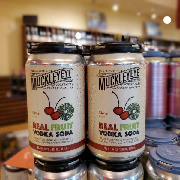 Muckleyeye Cherry Lime Vodka Soda