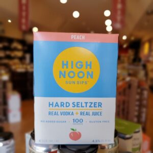 High Noon Peach 4pk