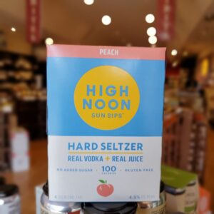 High Noon Peach 4pk