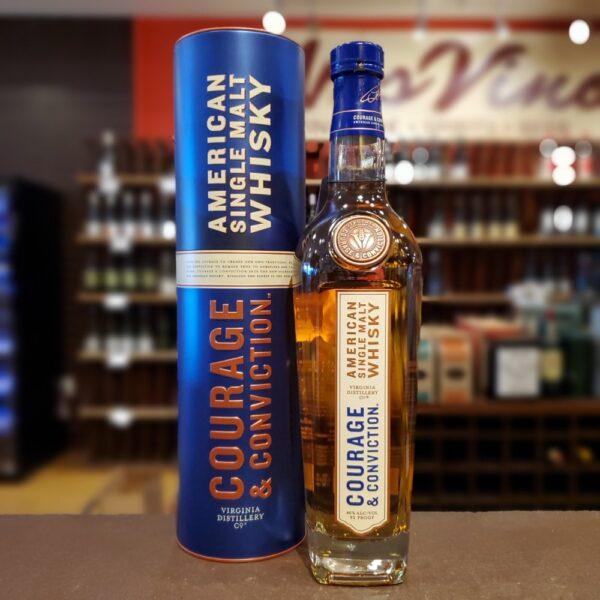 Virginia Distillery Whisky Courage & Conviction